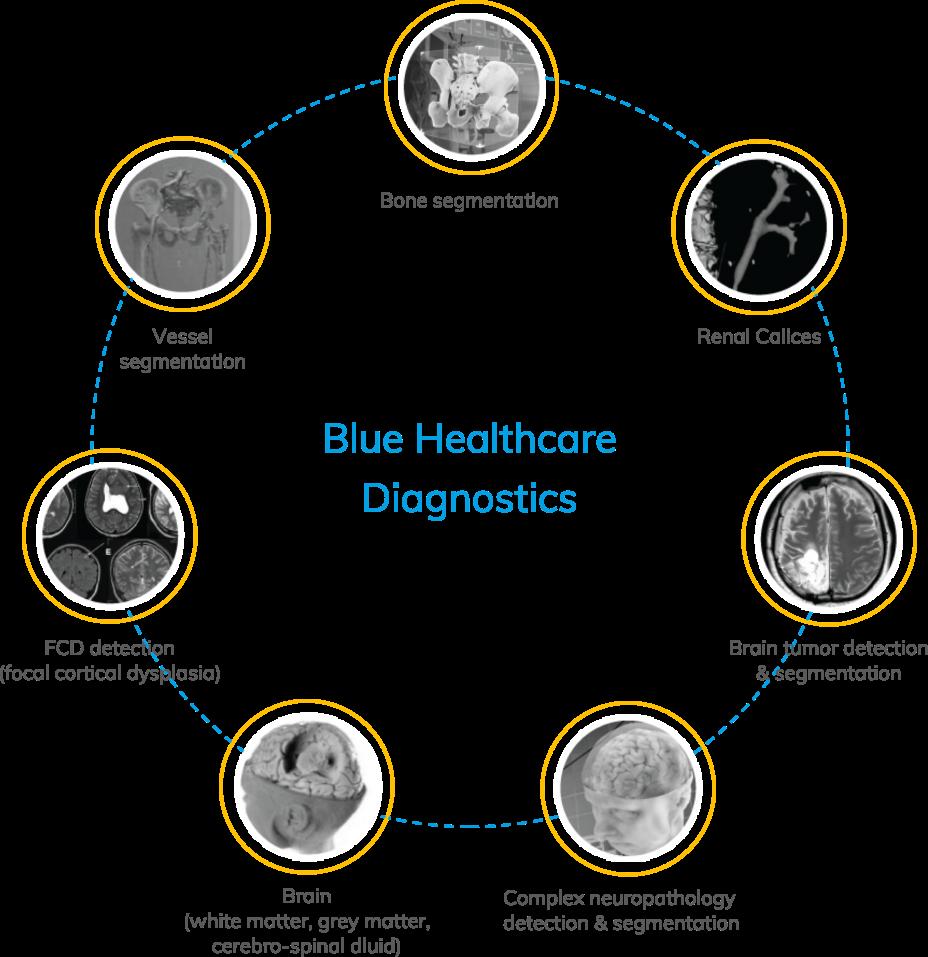 blue healthcare diagnostic