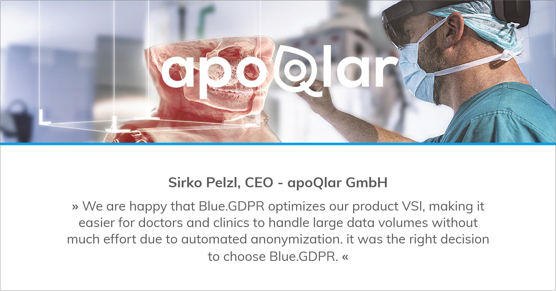 Sirko Pelzl, CEO - apoQlar GmbH