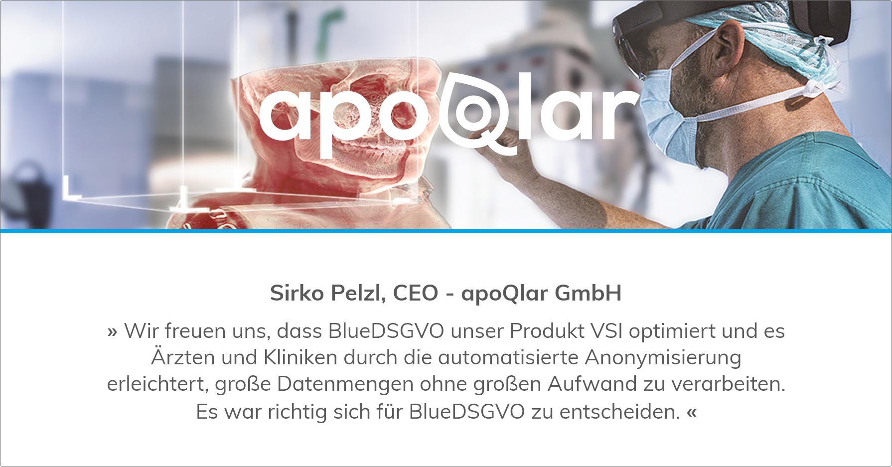 Blue.DSGVO optimiert apoQlar-Lösung VSI