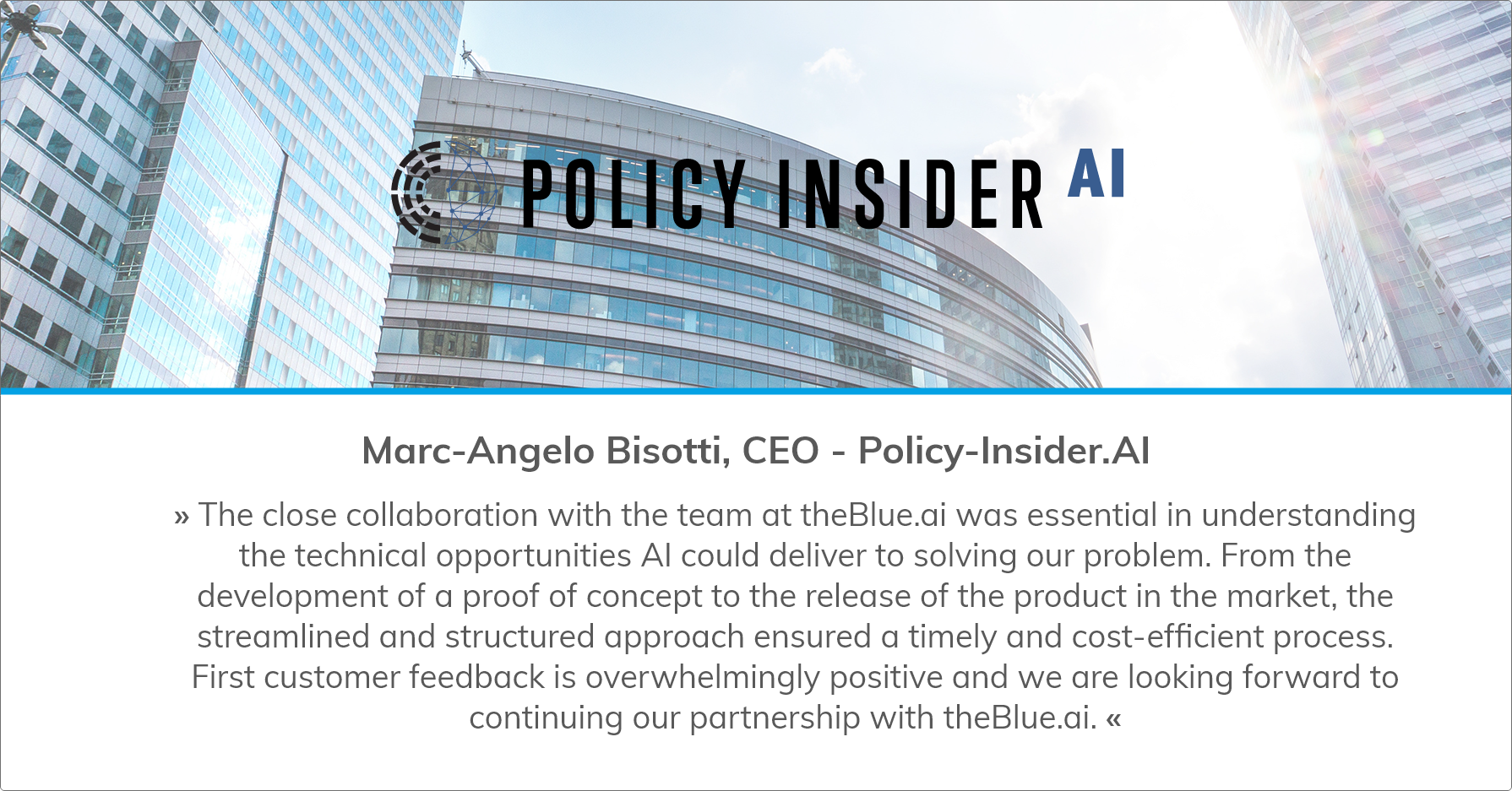 AI-powered platform for politicy monitoring and analysis with Policy-Insider.AI